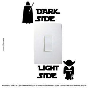 Adesivo Para Tomada Star Wars Mod:67