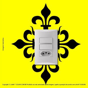 Adesivo Interruptor Floral Mod:77