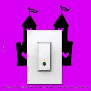 Adesivo Interruptor Castelo Mod:83