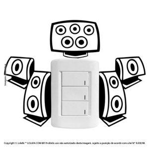 Adesivo De Interruptor Caixas de Som Mod:90