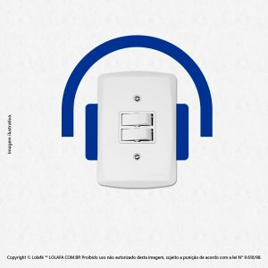 Adesivo Interruptor Fone Mod:95