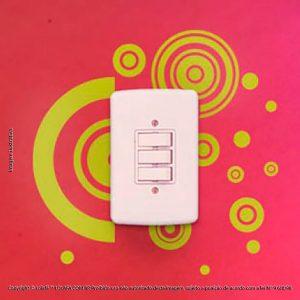Adesivo De Interruptor Vibrare Mod:114