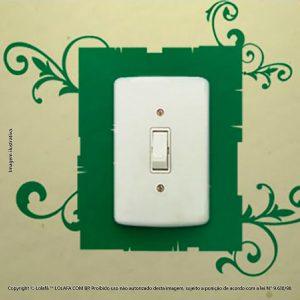 Adesivo Para Interruptor Selva Mod:117