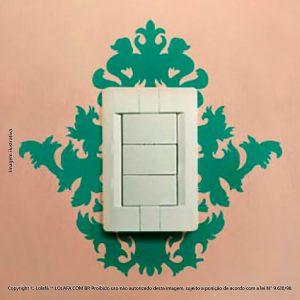 Adesivo Interruptor Majestad Mod:119