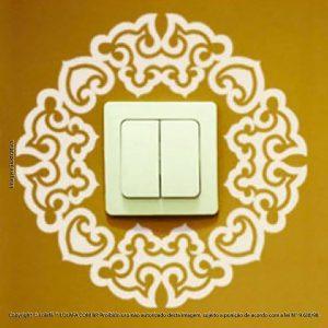 Adesivo Interruptor Fossick Mod:125