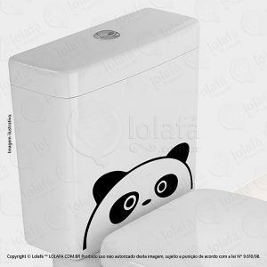 Adesivo Para Vaso Sanitario Panda Mod:5
