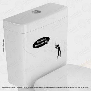 Adesivo Para Vaso Sanitario Que Mod:10