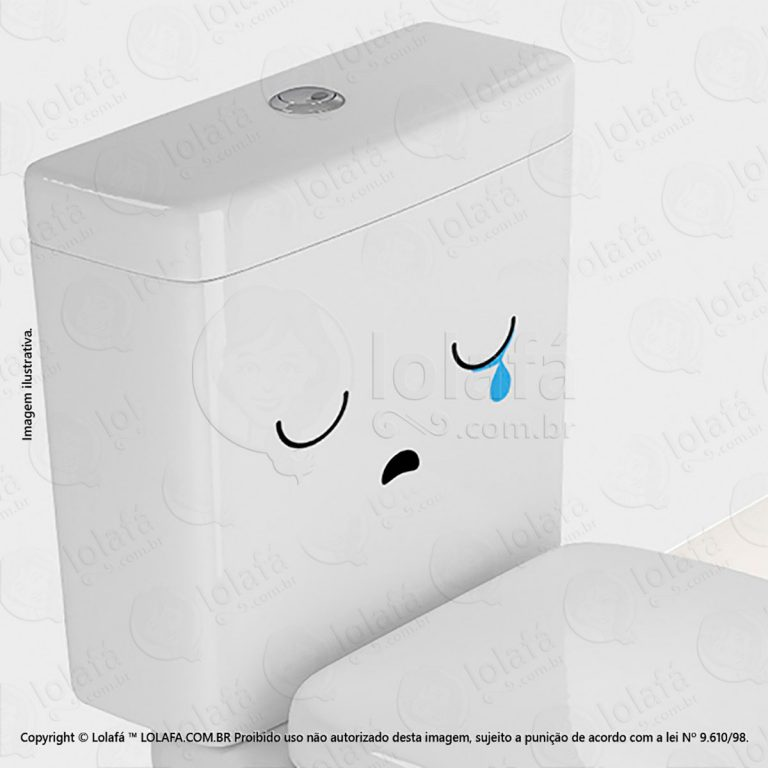 Adesivo Para Vaso Sanitário Rostinho Mod:36