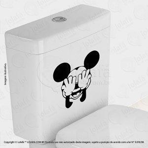 Adesivo Para Privada Mickey Mod:48