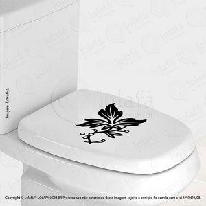 Adesivo Para Vaso Sanitario Flor Mod:100