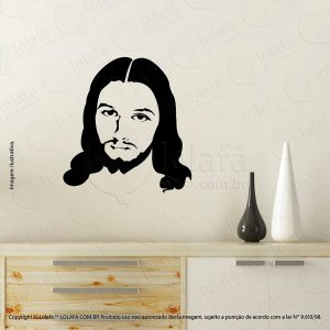 Adesivo De Parede Religiosos Jesus Cristo Mod:3