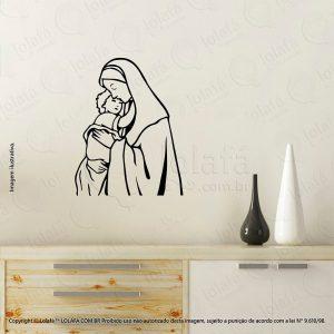 Adesivos Personalizados Religiosos Nossa Senhora Mod:24