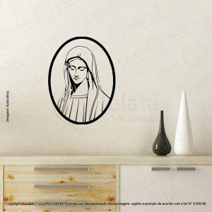 Adesivos Personalizados Religiosos Nossa Senhora Mod:34