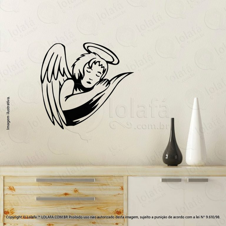 Adesivos Personalizados Religiosos Anjo Mod:44