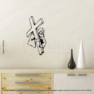 Adesivo Religiosos Jesus Cristo Mod:46