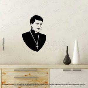 Adesivos Personalizados Religiosos Padre Mod:49