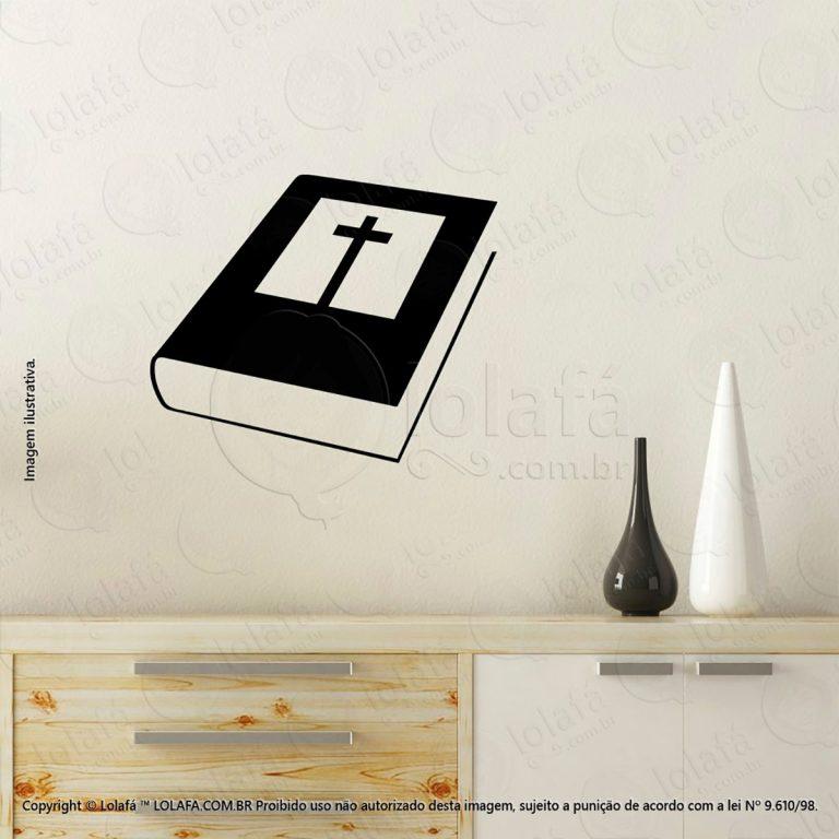 Adesivo Religiosos Bíblia Sagrada Mod:76