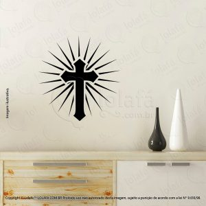 Adesivo De Parede Religiosos Cruz Mod:83