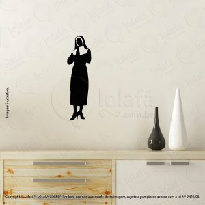 Adesivos Personalizados Religiosos Freira Mod:94