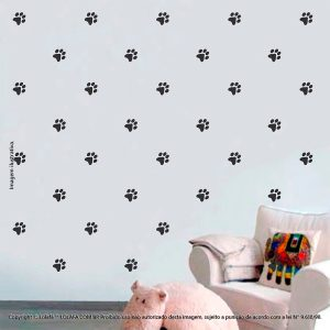 Kit Cartela Adesivos Infantil Para Parede Patinhas Mod:997