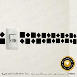 Pastilhas Adesivas Para Banheiro Mod:22